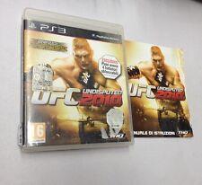 UFC UNDESPUTED 2010  PS3   USATO FUNZIONANTE