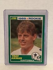 1989 Score Rookie #270 Troy Aikman Dallas Cowboys