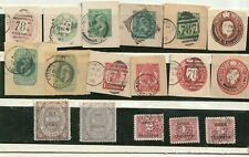 GB Cinderella old stamps - Card/Universal Telegraph/stock transfer stamps