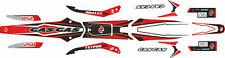 GasGas TXT Pro 2006, 06 style Red decal / sticker set 80cc - 300cc