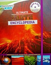 Discovery Kids Ultimate Earth Encyclopedia Book and DVD New