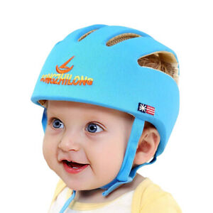 Infant Baby Toddler Safety Head Protection Helmet Kids Soft Hat Walking Crawling