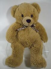 "Animal Alley Teddy Bear Plush Grizzly Stuffed Brown Animal 2007 JUMBO 24"" Toy"