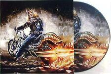 IRON MAIDEN VINYL LP POWERSLAVE IN MADRID - PICTURE DISC
