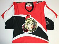 NHL Hockey Ottawa Senators Sewn Jersey Kids Boys Girls Youth S/M Medium KOHO