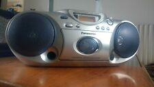 Panasonic Portable Stereo CD Player. Model RX-D19. CD, Radio and Cassette.