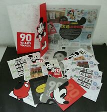 Malaysia 90 Years Of Mickey Mouse 2018 Walt Disney FDC (Folder set MNH *official