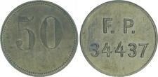 50 Pfennig Feldpost Kroatische Marine-Legion ca. 1943 Deutschland