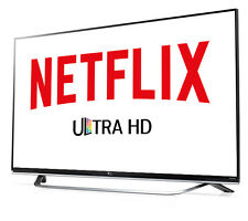 Netflix for worldwide HD 4K