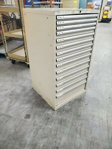 14 Drawer Lista Tool and Hardware Storage Cabinet with Tons of Fuses!!!