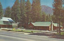 Bijou CA Cowan's Motel Lake Tahoe Postcard 1950s