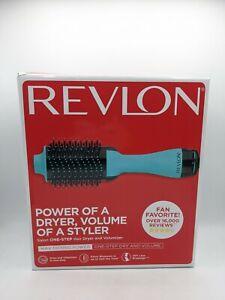 Revlon One-Step Hair Dryer And Volumizer Hot Air Brush, Mint