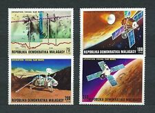MADAGASCAR - 1976 YT 600 à 603 ESPACE - TIMBRES NEUFS* charnière