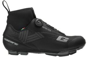 GAERNE G.ICE STORM MTB GORE-TEX BLACK | WINTER MTB CYCLING SHOES Made in Italy