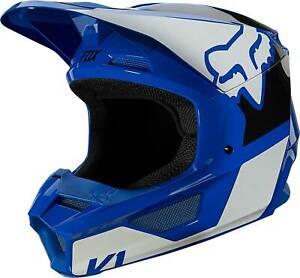 Fox Racing V1 Helmet - MX Motocross Dirt Bike Off-Road ATV MTB UTV Adult