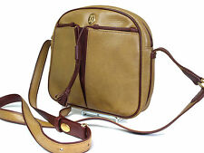 Auth CARTIER Cartier Must De Vintage Dark Yellow Cross-Body Shoulder Bag CS14036