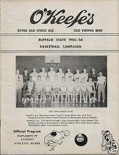 1955 Buffalo NY State College Basketball Program / De Soto / Beer Ads