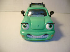 CHEVRON CARS - WENDY WAGON NO2 - GREEN PLASTIC CAR  - GOOD USED CONDITION