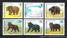 Animaux Ours Bulgarie (110) série complète 6 timbres neufs** 1er choix