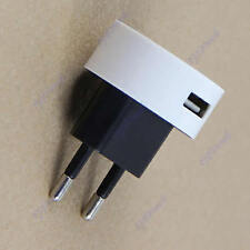 EU Plug USB Power Adapter AC Wall Charger for iPhone 5G 4 4S iPod Touch