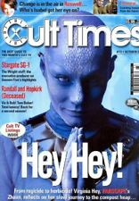 Cult Times #73 - Virginia Hey Farscape Zhaan - Stargate Sg-1 -Roswell + 3 Photos
