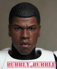 1/6 Finn Custom Head Sculpt John Boyega For Hot Toys Star Wars SHIP FROM USA