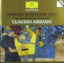 CD MAHLER - sinfonía no. 7, Abbado, DGG