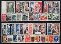 AK140475/ FRANCE / 1954 COMPLETE YEAR MINT MNH – CV 360 $