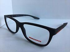 New PRADA Sport VPS 02G  UB0-1O1 54mm Matte Brown Men's Eyeglasses Frame