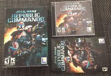 Star Wars: Republic Commando (PC, 2005) Windows Box Complete W/ Manual 2 Discs