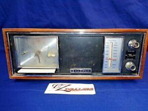 Panasonic  AM/FM 7 Transistor, 5-Diode Clock Radio Model #RC-7247