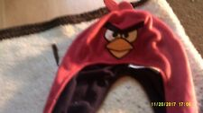 angry birds hat with hand pockets 1 to 3 years