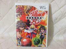 Bakugan Battle Brawlers Nintendo Wii Activision 2009 NEW SEALED