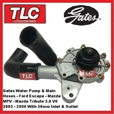 Water Pump, Housing & Hoses Mazda Tribute MPV & Ford Escape 3.0 V6 03 04 05 06