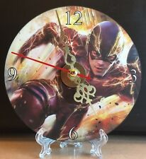 Brand New The Flash CD Clock DC Superheros Action Movies Nice!!
