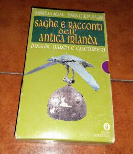 AGRATI MAGINI SAGHE E RACCONTI DELL'ANTICA IRLANDA COMPLETO 2 VOLUMI OSCAR 1993