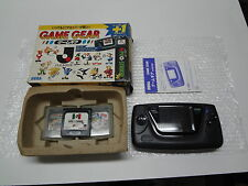 Game Gear System J League GG Pro Striker Package Sega Japan GOOD