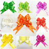5-50 Pull Bow Decorations Large Wedding Car Xmas Gift Wrap Floristry 10 Colours