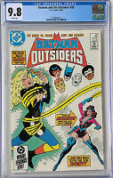 BATMAN AND THE OUTSIDERS #20  (1985) DC 1ST APP SYONIDE RARE ONLY 1!!  CGC 9.8