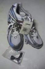 Adidas Titan 2005 Track And Field Athetisme Silver/White Cleats Shoes Size 11