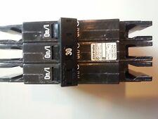 Allen Bradley 1492-MCAA 330 Series A industrial Circuit Breaker 3 pole 30 Amp