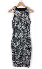 Animal Print Snakeskin Regular Size Dresses for Women