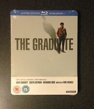 The Graduate Blu-Ray SteelBook Zavvi Uk Exclusive 1/2000 Oop Rare Dustin Hoffman