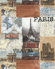 Destination Paris Collage French Icons  Windham Fabrics 1/2 Yard JUST IN