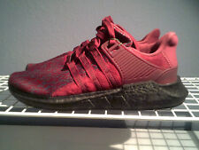 """NEW ADIDAS EQT SUPPORT 93/17 """"JD Sports"""" MEN'S BURGUNDY RUNNING SHOES SIZE 11.5"""