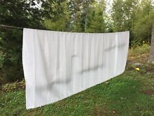 """Camper Shower Curtain From Popup, 128"""" Wide 74"""" Long, white, From 99 Coachman"""