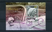 Papua New Guinea 2008 MNH Marilyn Monroe 1v S/S Cars Celebrities Stamps