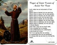 St Francis of Assisi For Peace Wallet BOGO = Buy 1, Get 1 Free Using Add to Cart