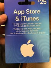 Itunes Gift Card C$25 Code - Local Pick Up Only Quantity *3 And C$50*2