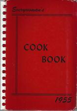 STERLING IL 1955 GRACE EPSISCOPAL CHURCH * EVERYWOMAN'S COOK BOOK ILLINOIS RARE
